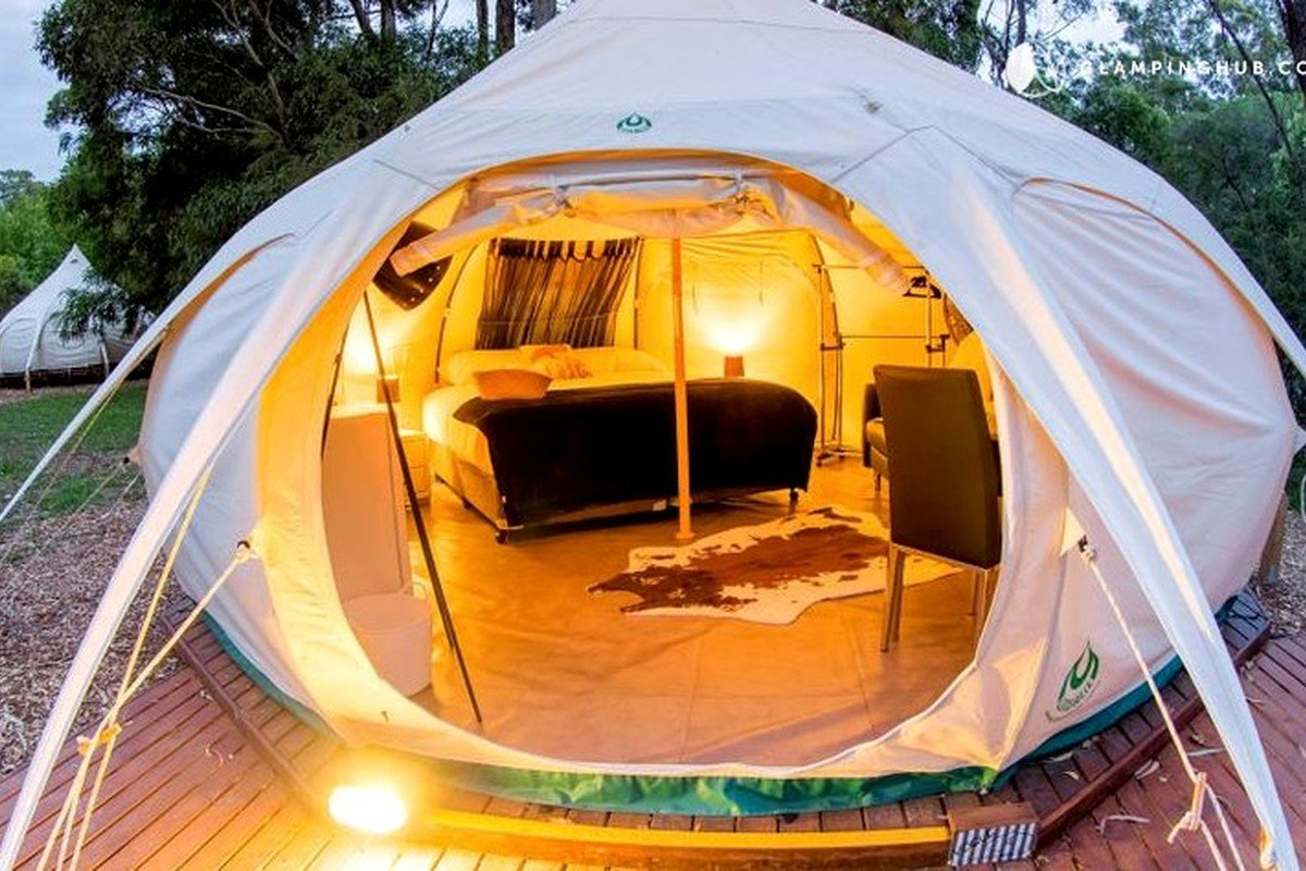 & Glamping Tents near Canberra ACT   Glamping Hub