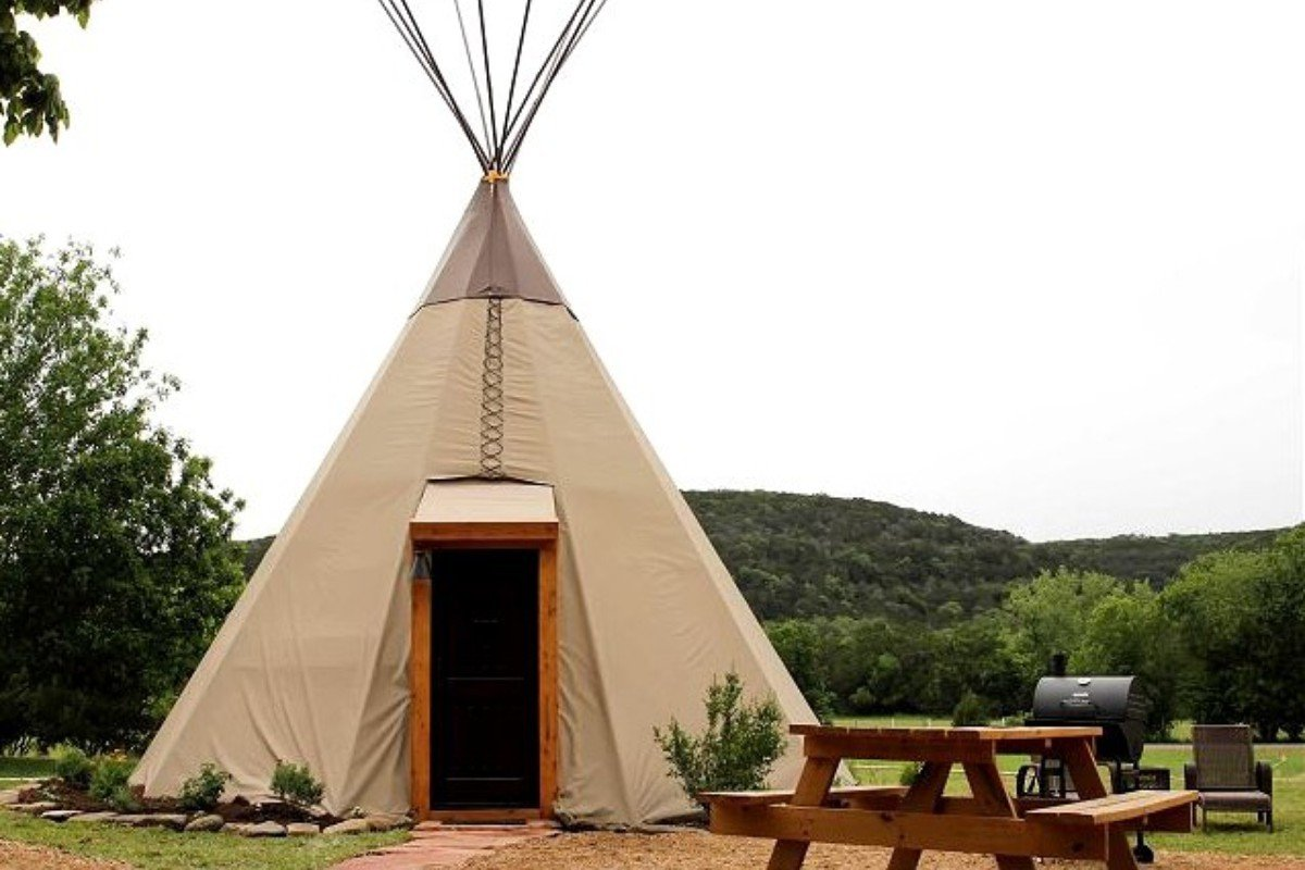 Glamping Tents in South Texas