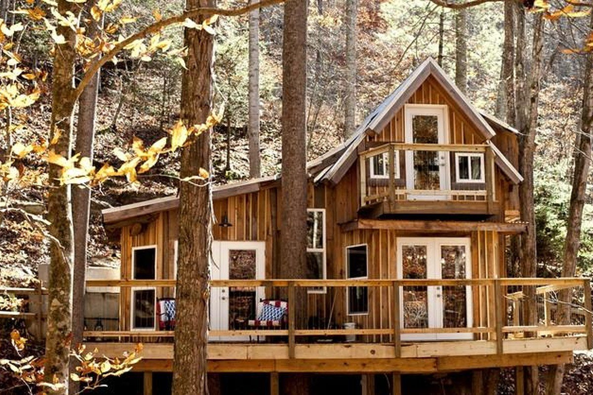 High End Treehouses in the US