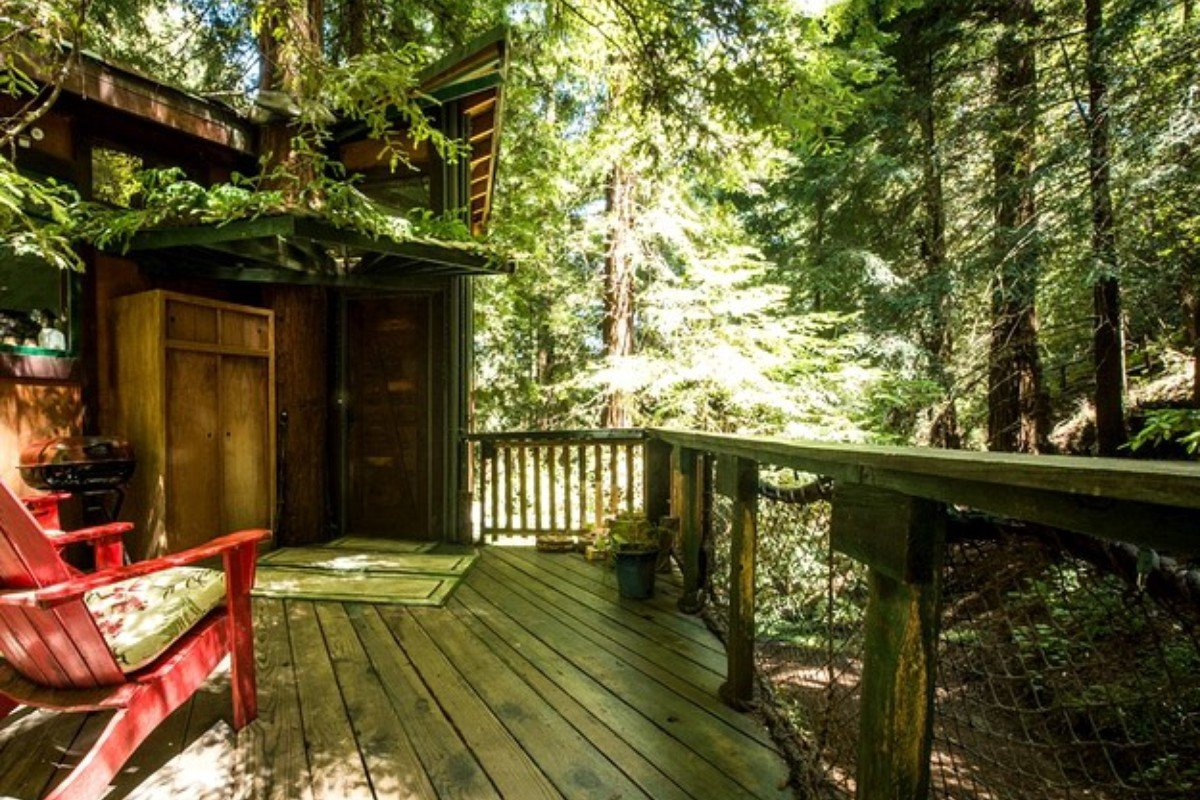 Kid-Friendly Tree Houses in California