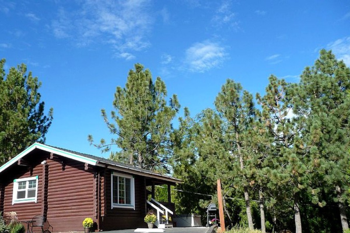cabins in lake bear sinatra s view big villa rental pin more vacation california