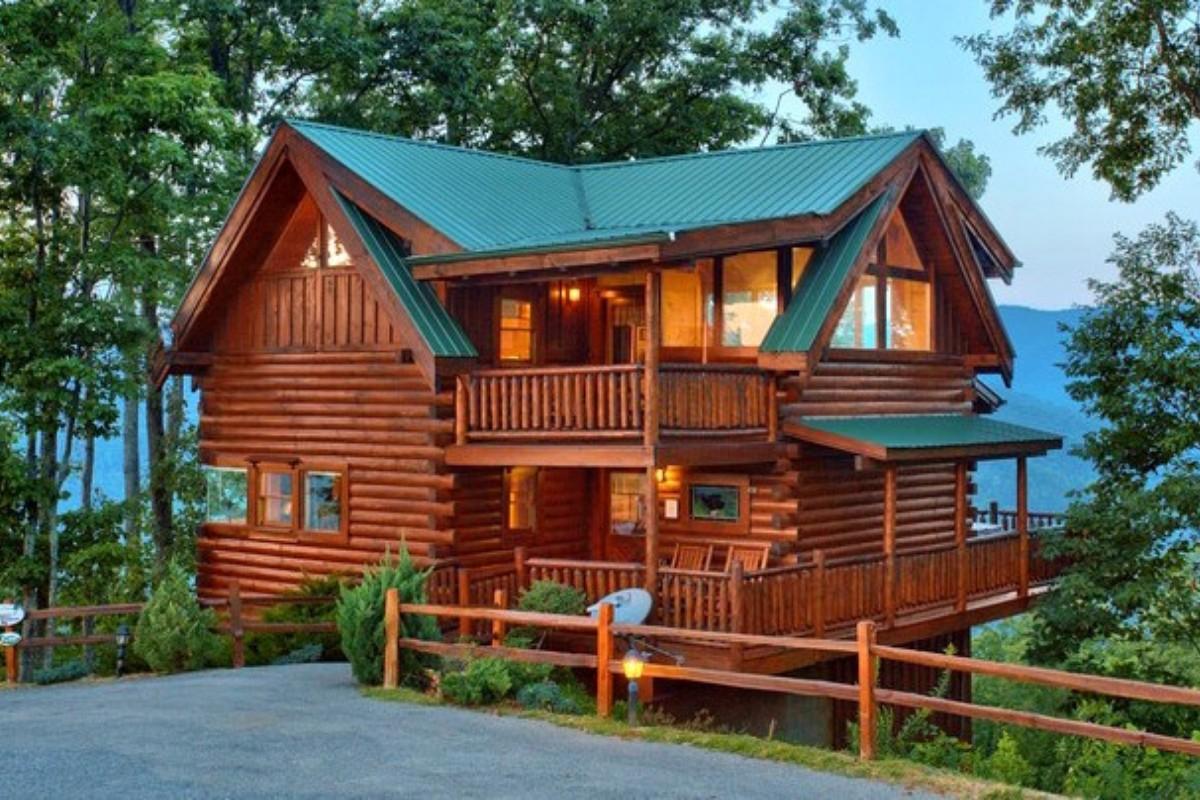 usa cabins booking vrbo rentals chattanooga cabin tennessee vacation reviews us