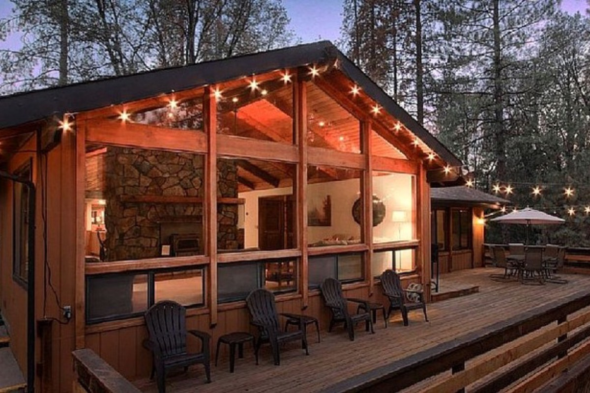 Log Cabin Rentals With Wi Fi Near Sequoia National Park