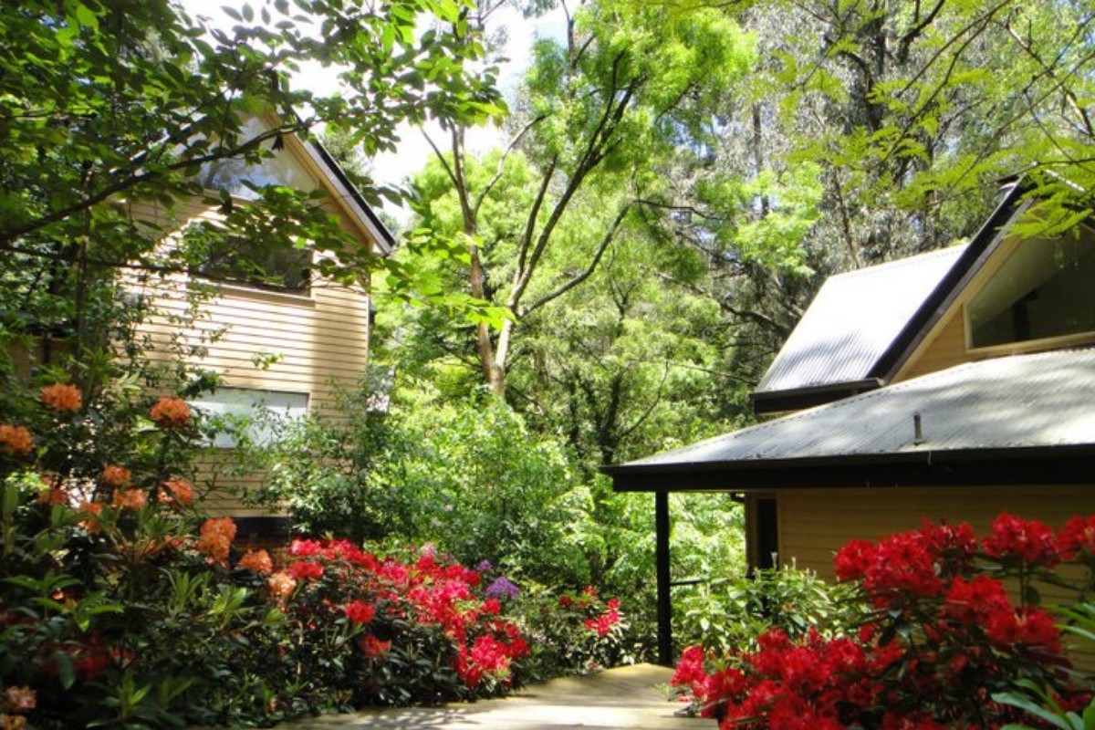 Luxury Accommodations in the Dandenong Ranges, Victoria, Australia