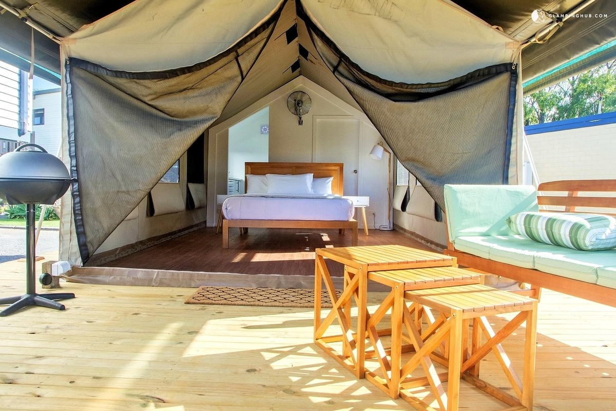 Luxury Beach Tents Near Sydney