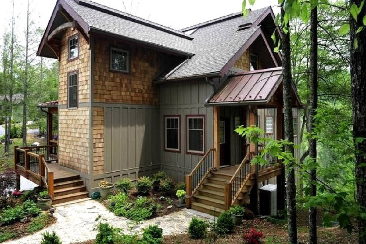 North carolina getaways for Asheville nc luxury cabin rentals