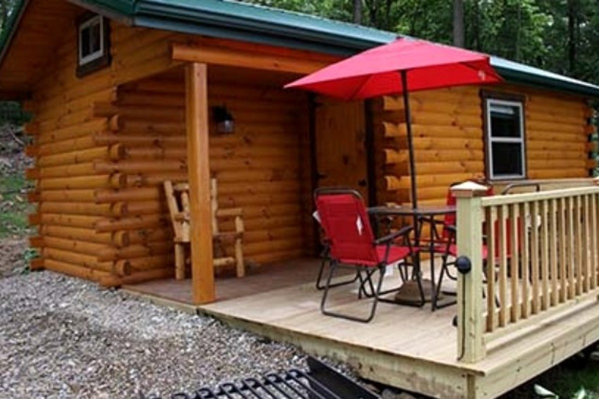 cabins clendening rentals units cheap and in accommodations cabin ohio img marina motel