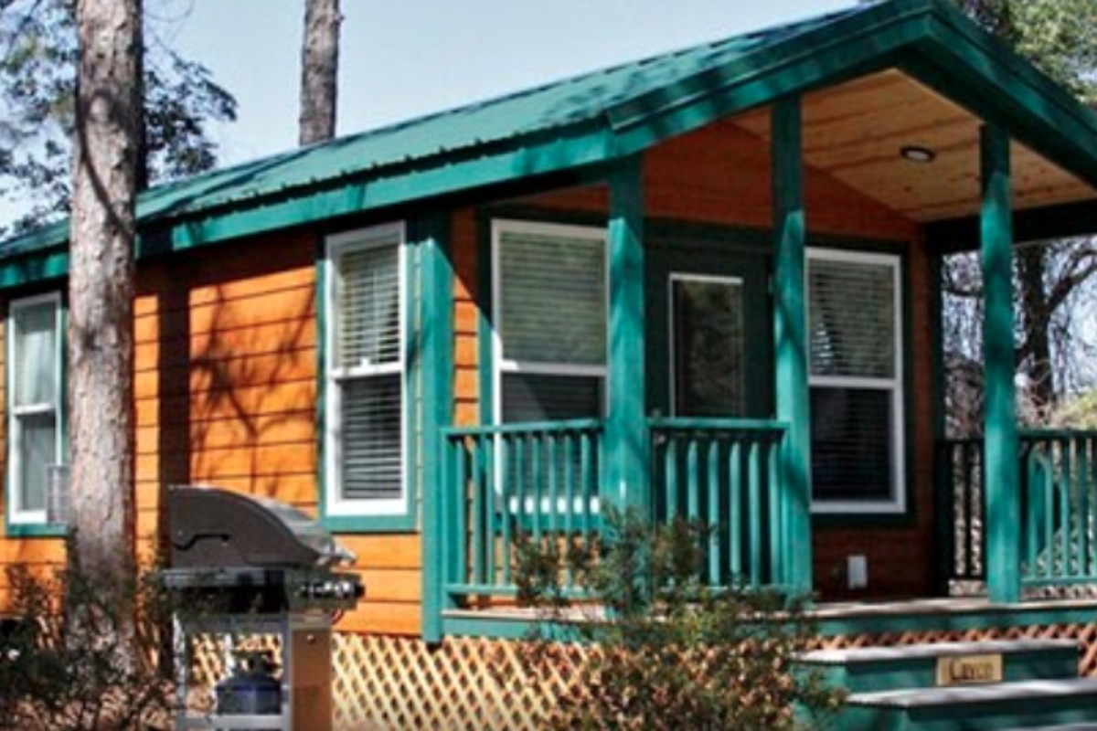 Luxury Cabin Rentals on Fort Fisher State Recreation Area