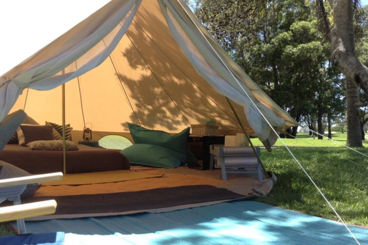 Luxury Camping in Australia