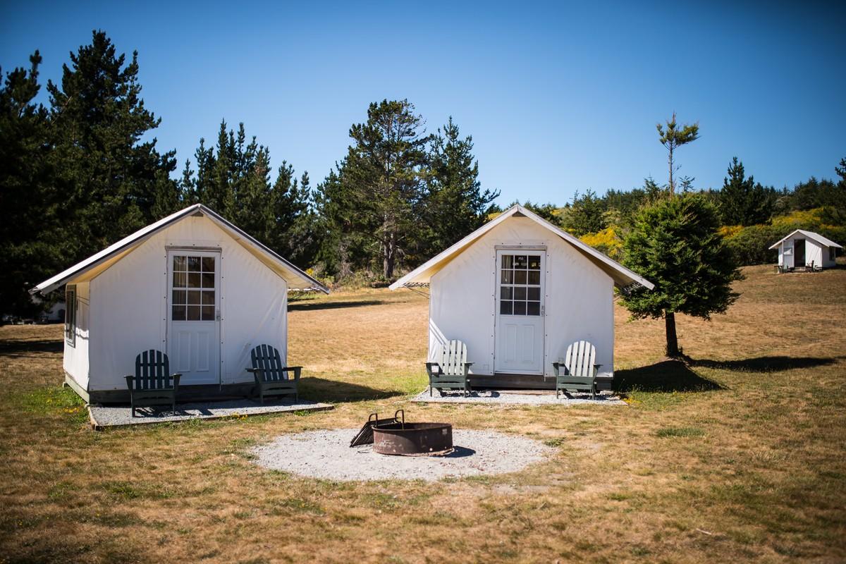 Delicieux Luxury Camping Cabins Near Santa Cruz