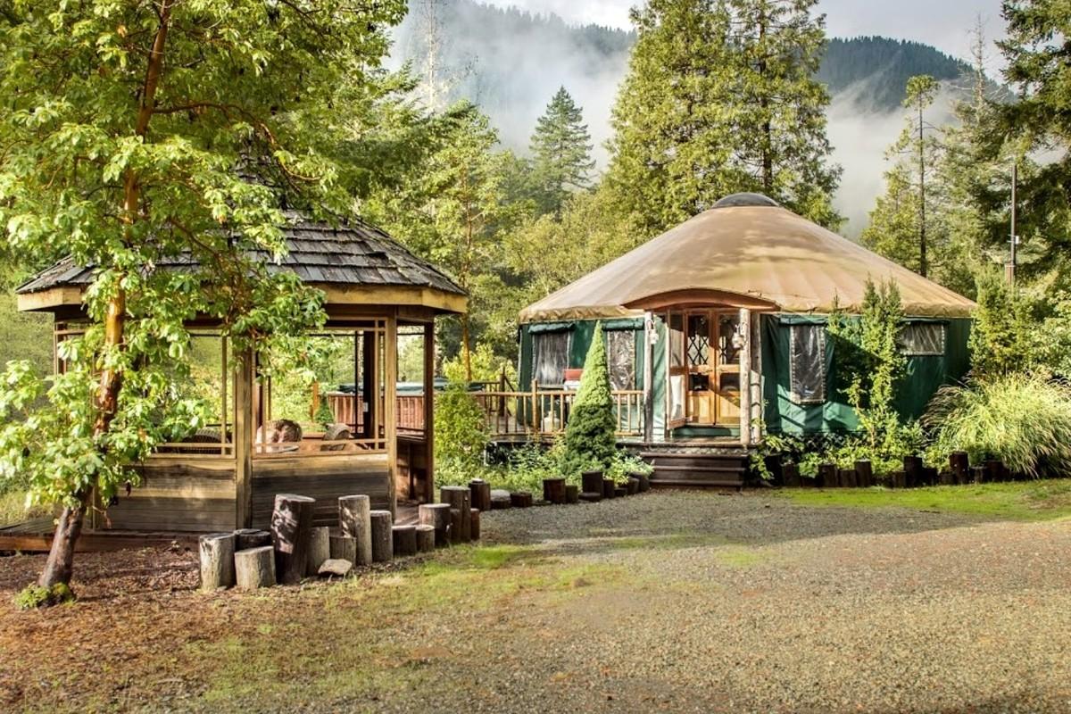 Oregon Weekend Getaways Glampinghub Com
