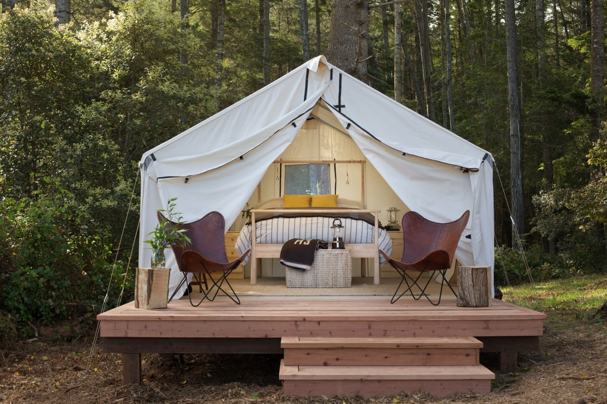 & Luxury Tent and Tipi Camping near Big Sur