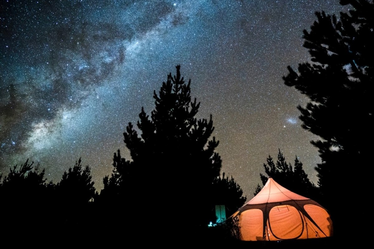 Luxury Tent and Tipi Camping near Lake Wanaka