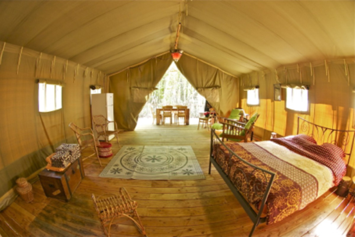 Luxury Tent and Tipi Camping near Nice