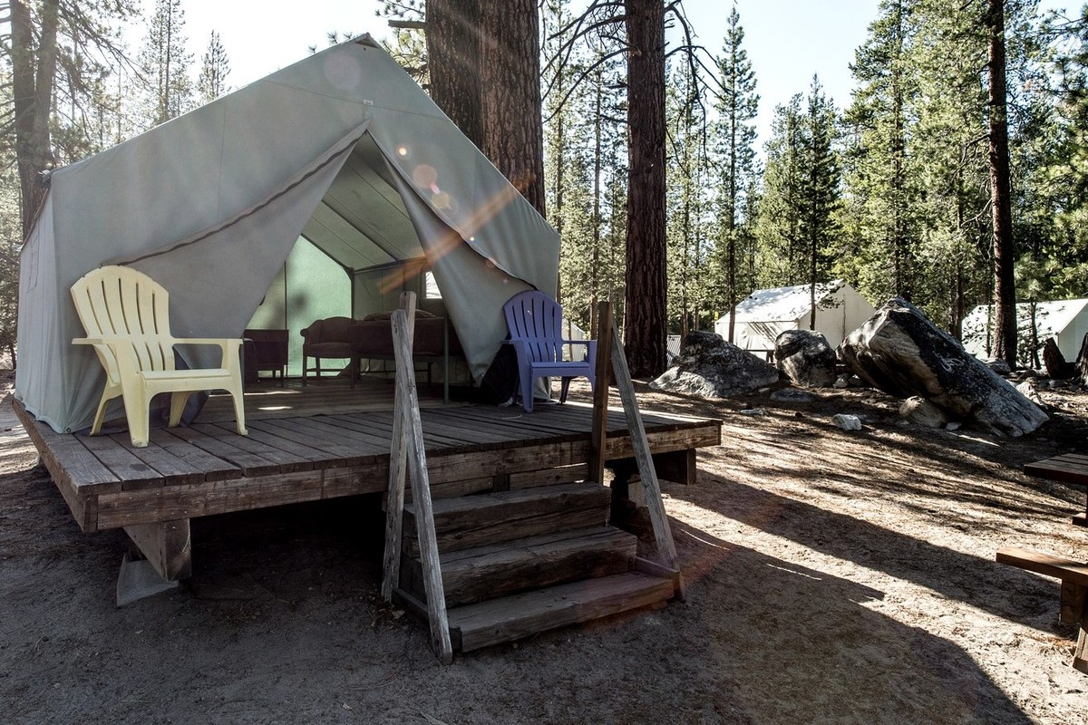 & Luxury Tent and Tipi Camping near Yosemite National Park California