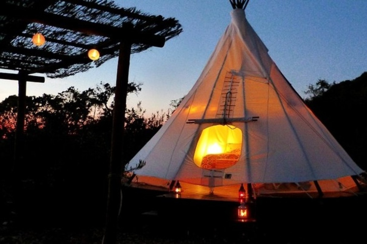 Luxury Tent and Tipi Camping in Portugal