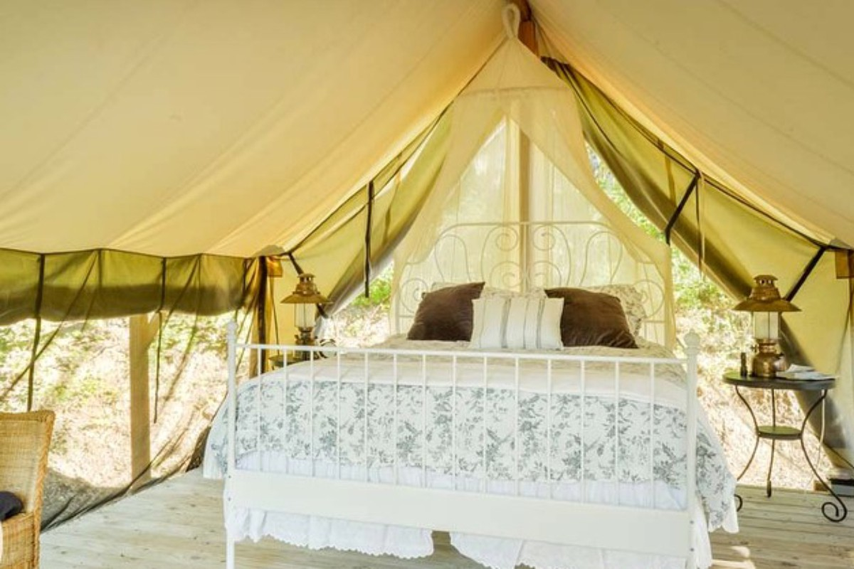 Luxury Tent and Tipi Retreats in Washington