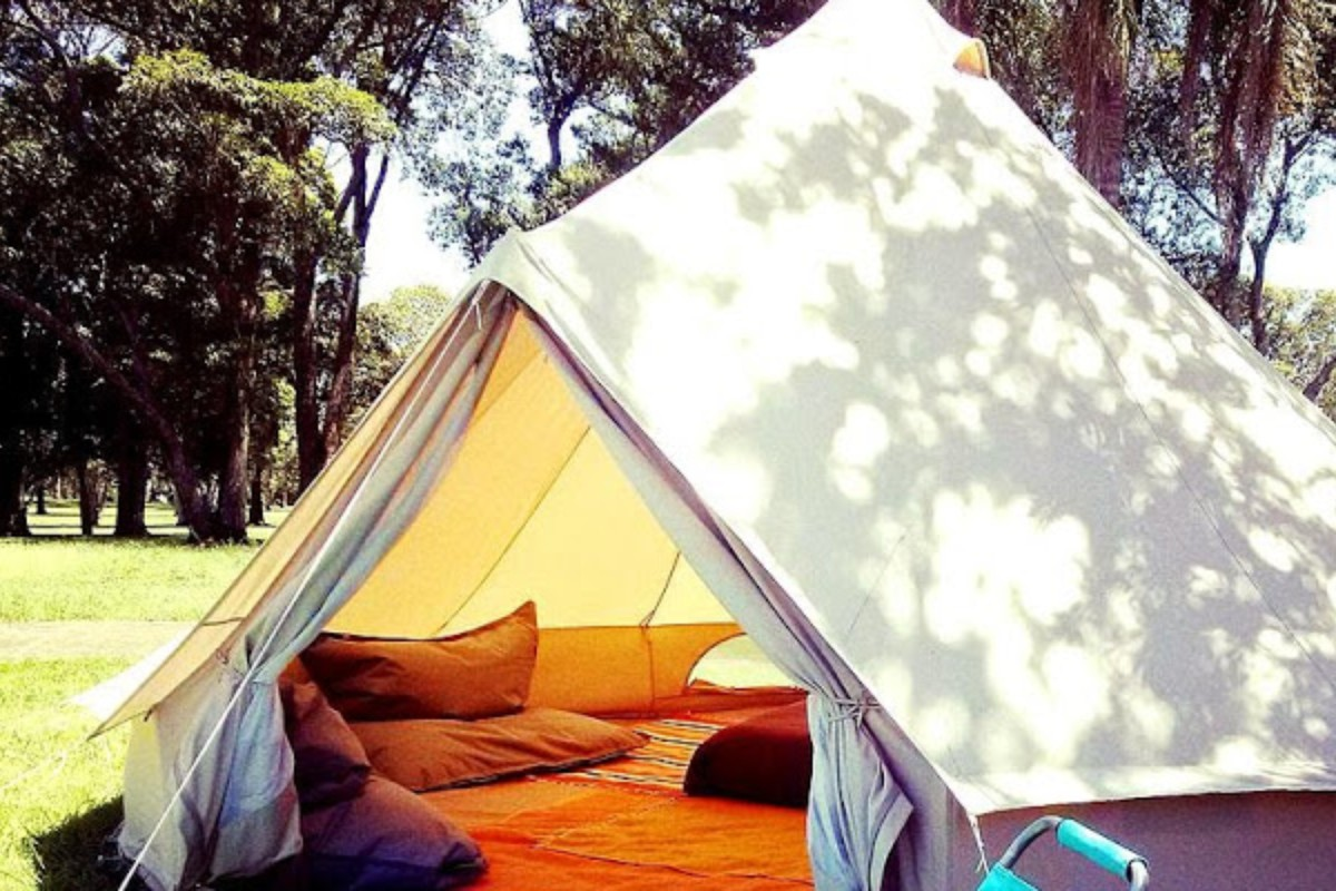 Luxury Tent Camping near Gold Coast