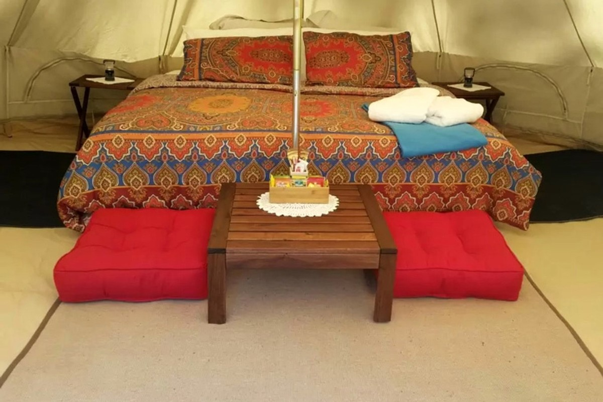Luxury Tent Camping near Hunter Valley Wine Country