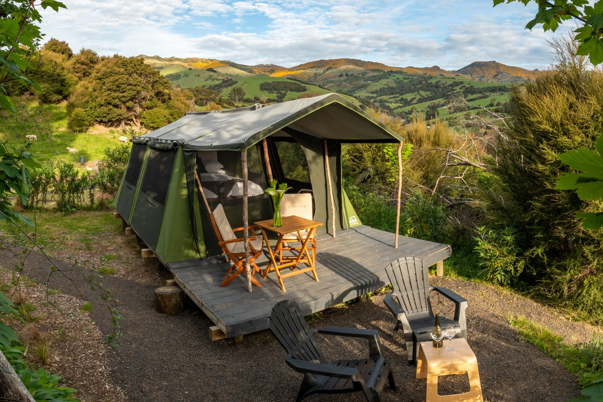 Luxury Tent Camping in New Zealand