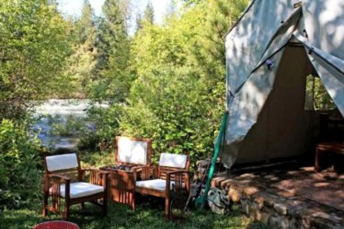 Luxury Tent Stays in Lake Tahoe