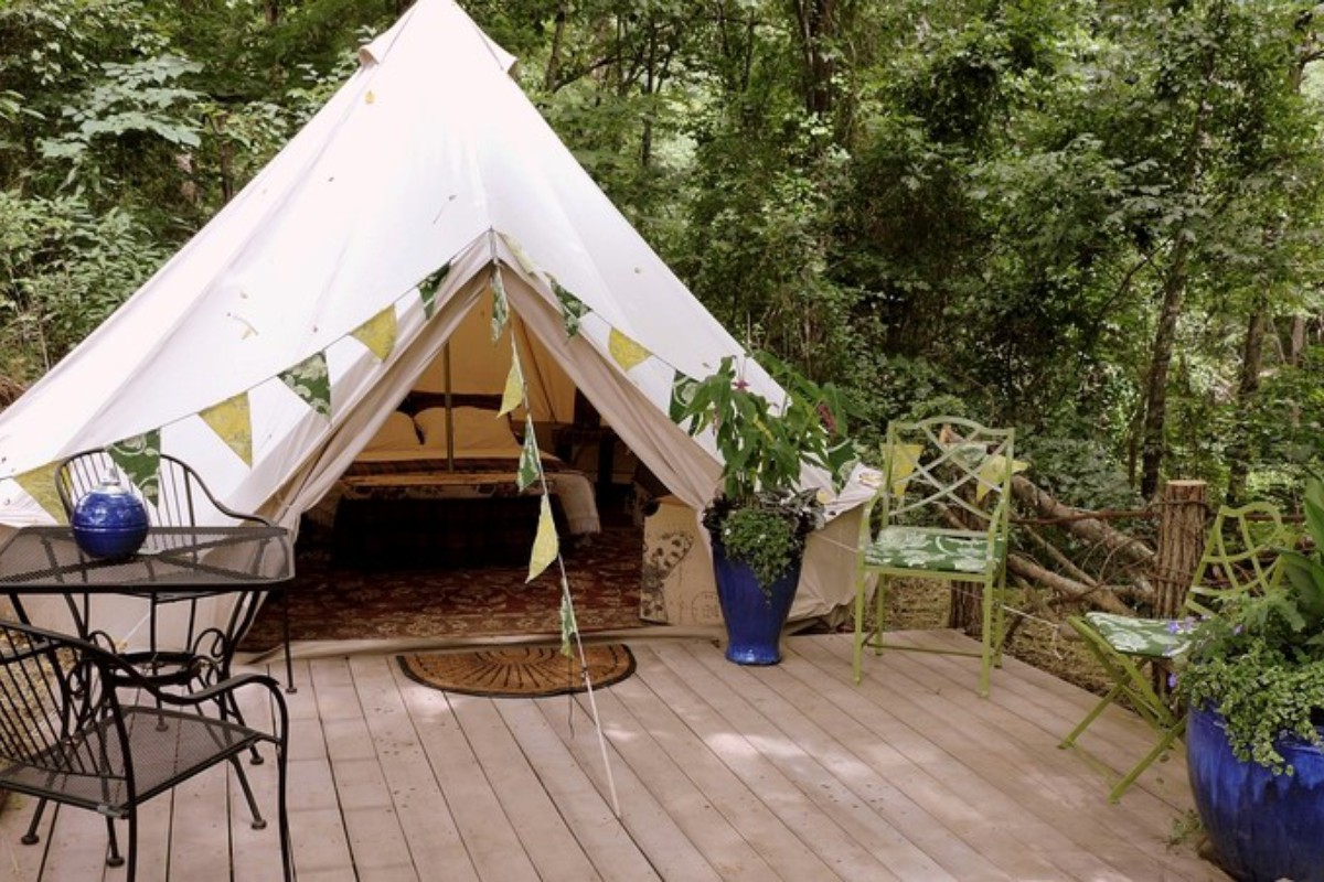 Luxury Tents and Tipis near Asheville