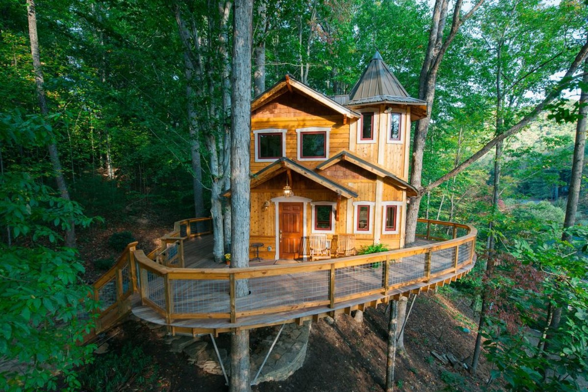 Luxury Tree House Hotels In Northern California