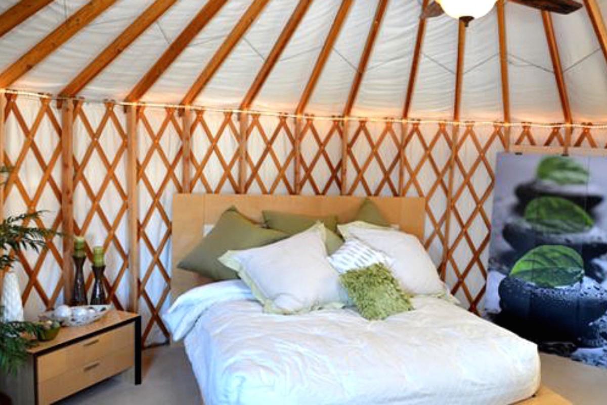 Luxury Yurt Camping Near Bryce Canyon National Park