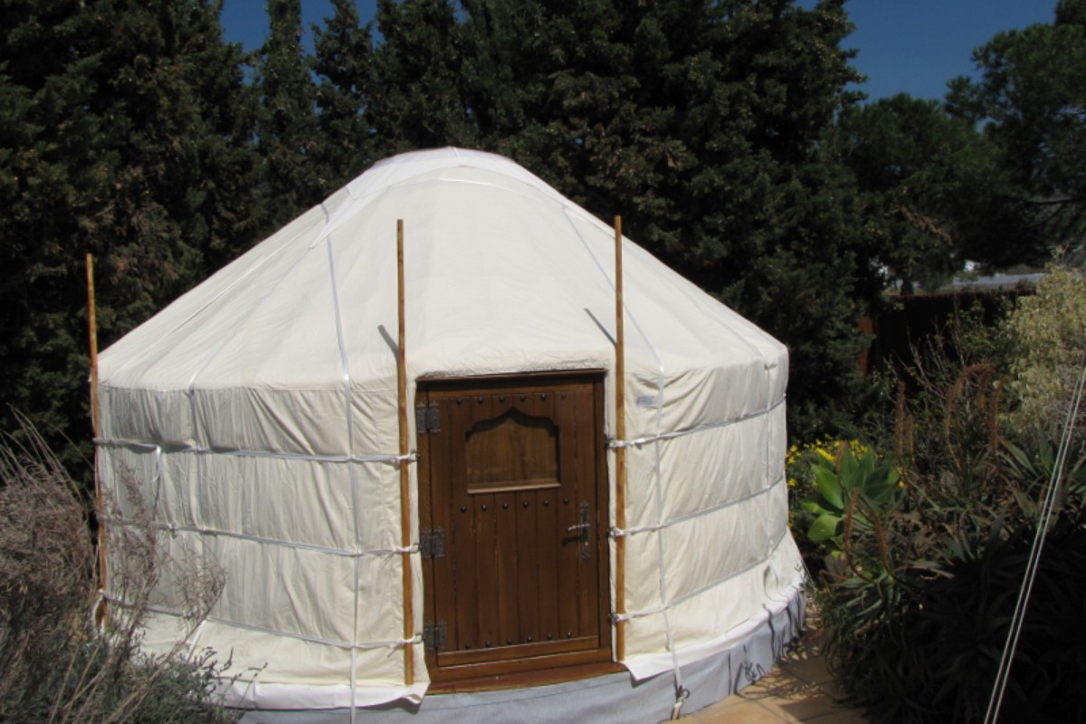 Luxury Yurt Camping near Granada