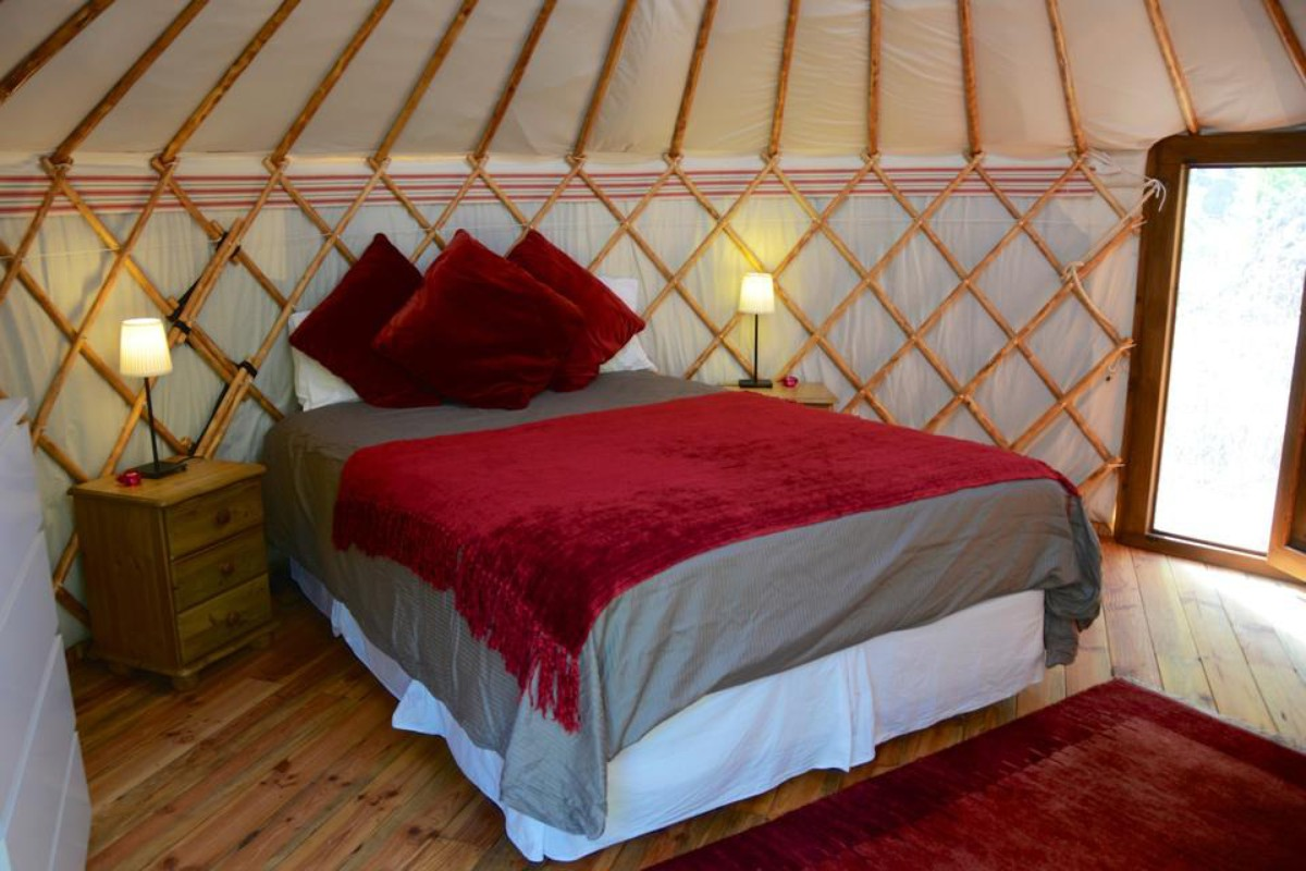 Luxury Yurt Camping near Sevilla