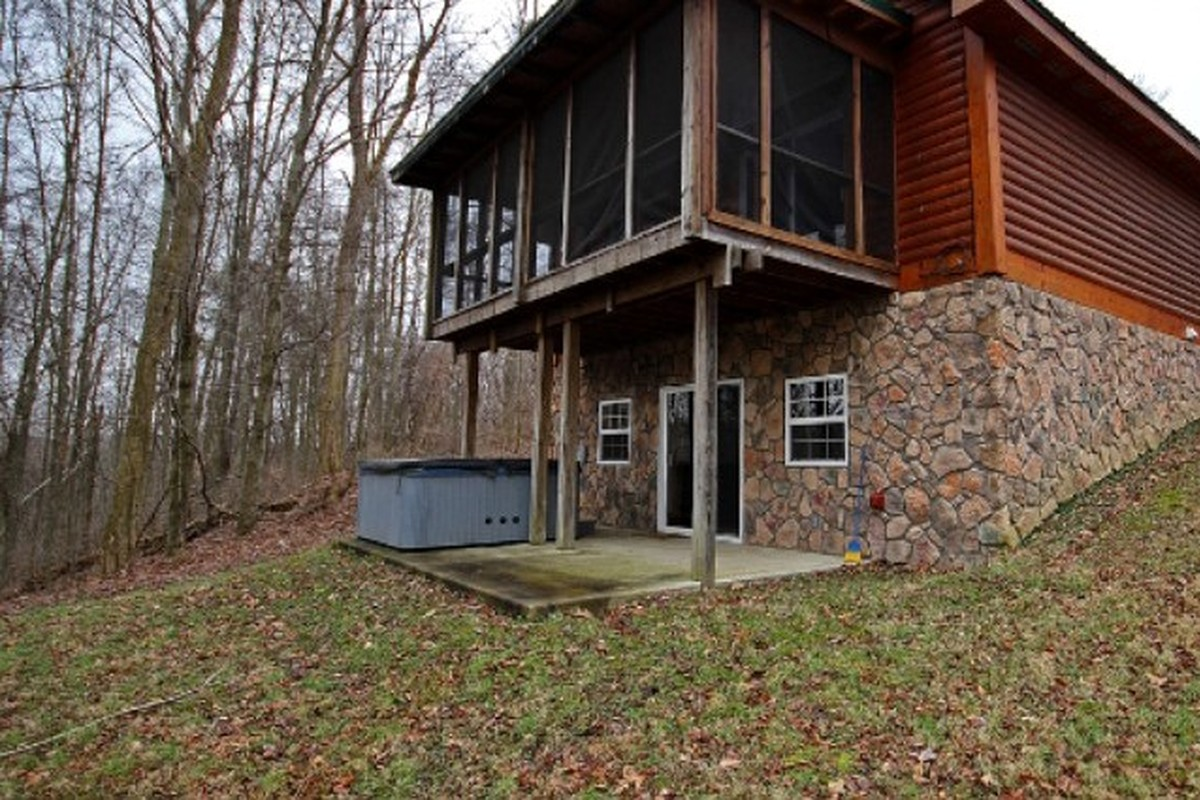 ohio stargazer watch youtube in cabins getaway llc logan cabin