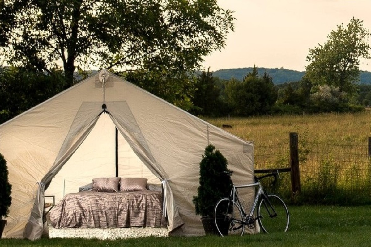 Most Romantic Luxury Tents in Upstate New York