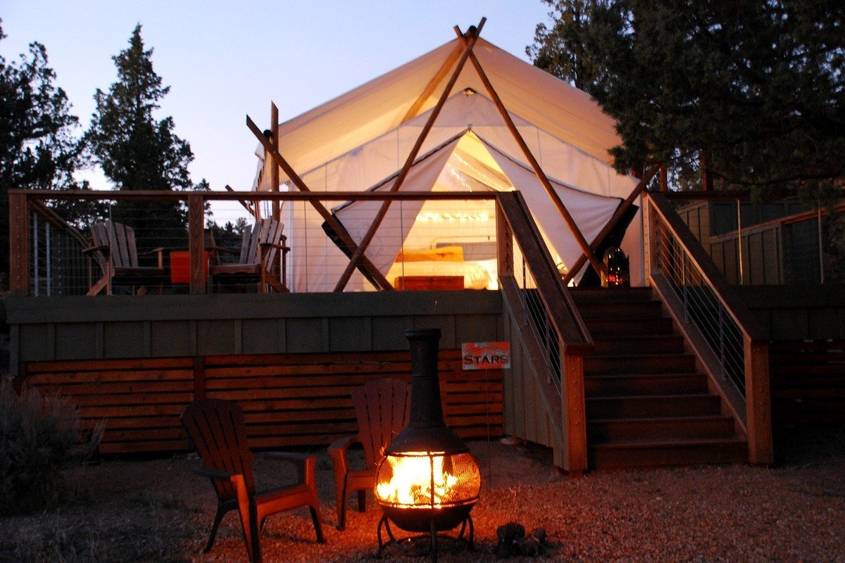 Oregon Wine Country Luxury Camping