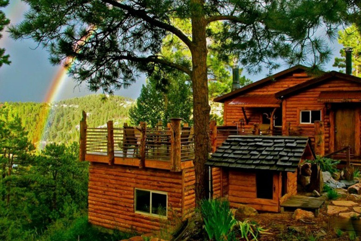 Pet friendly cabins in the u s for Cabin rentals near denver colorado