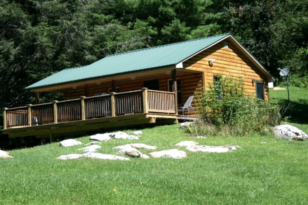 Pet friendly cabins in the u s for Cabin rentals near smoky mountains