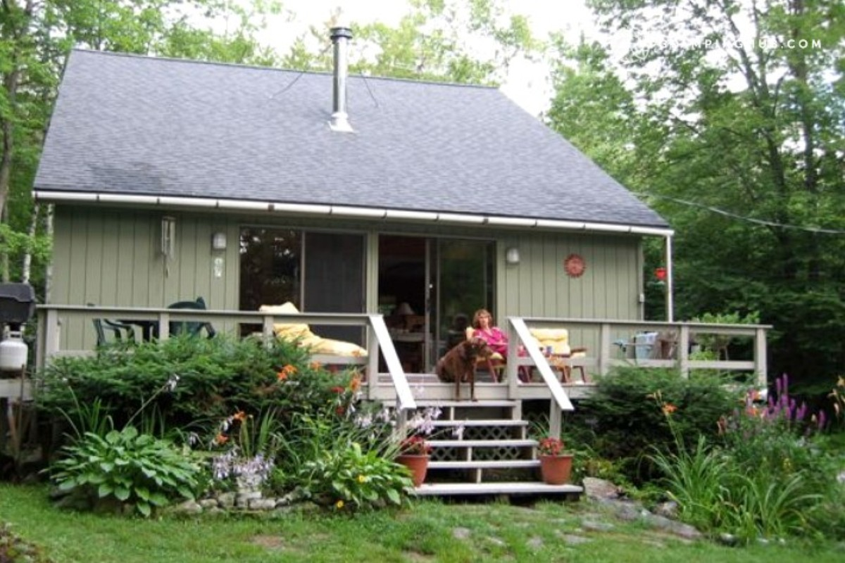 homeaway the romantic cottage beautiful in cabins cozy vacation inn newfound rental lake knoll on nh