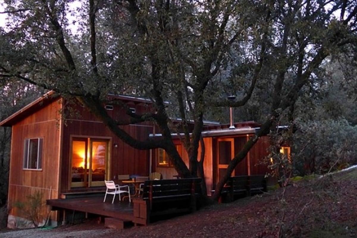 Sequoia national park cabin rentals for Log cabin sequoia national park