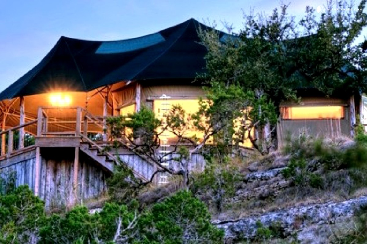 Romantic Luxury Tents near San Antonio, Texas