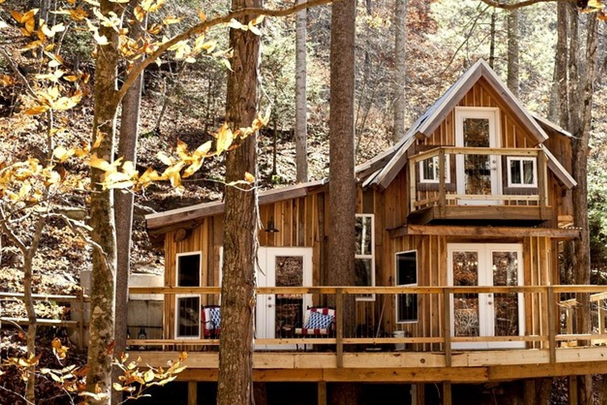 Romantic Tree House Getaways near Beech Mountain, North Carolina