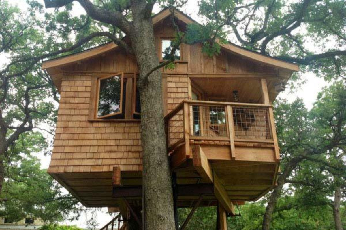 Romantic Tree House Rentals near Austin