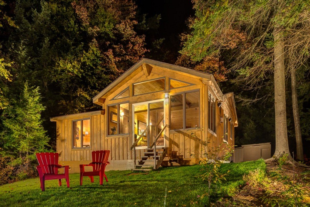 Rustic cabin rentals for Rustic lodge