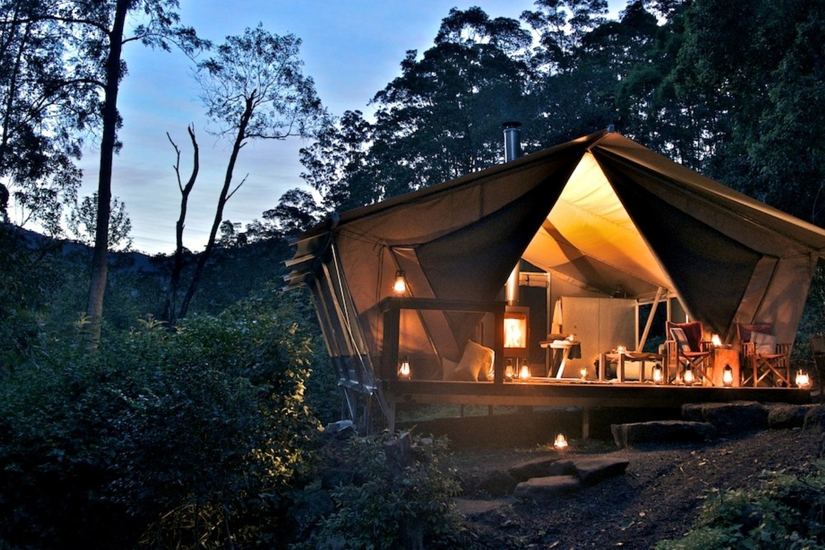 Safari Tents near Brisbane