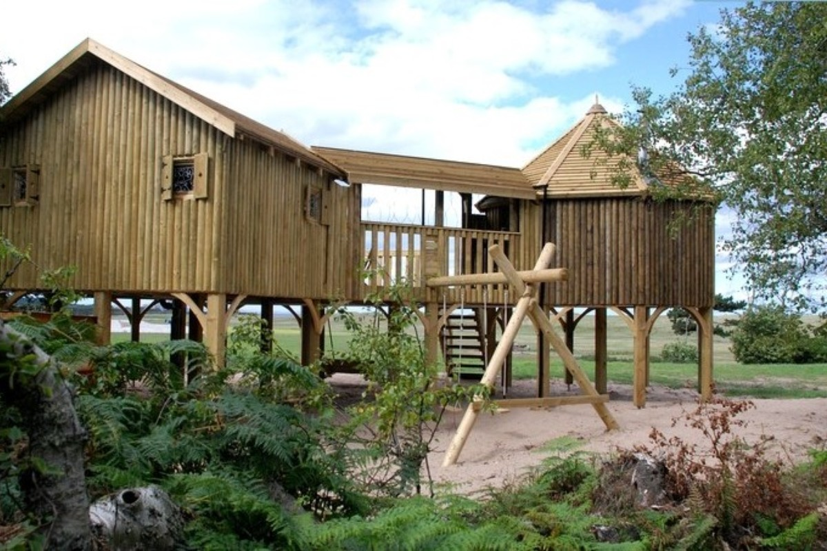 Scotland Tree House Glamping