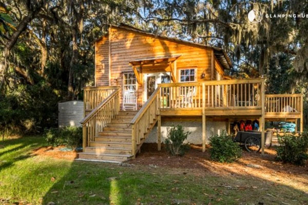 cabins savannah georgia