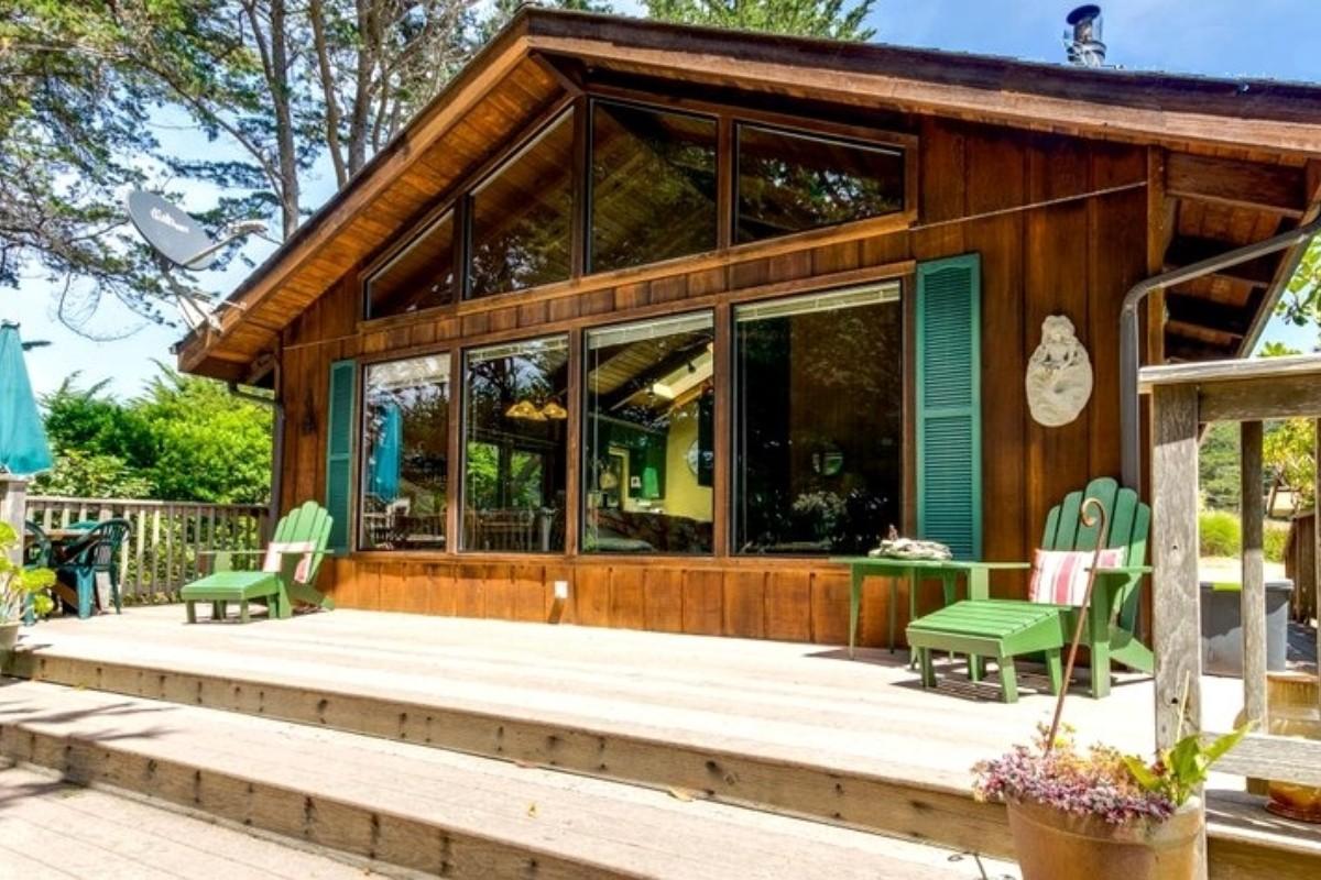 Spring Cabins Near Mendocino County, California