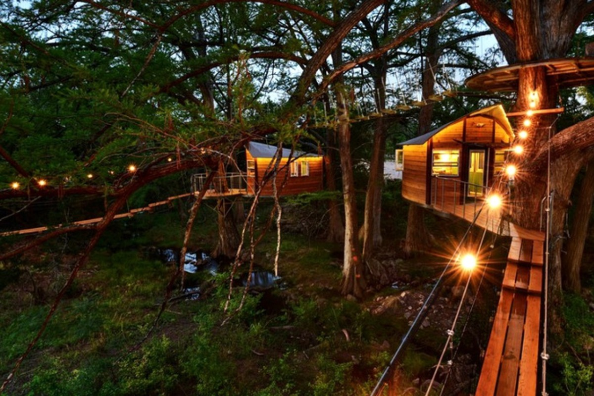 Stay in a Tree House in Texas