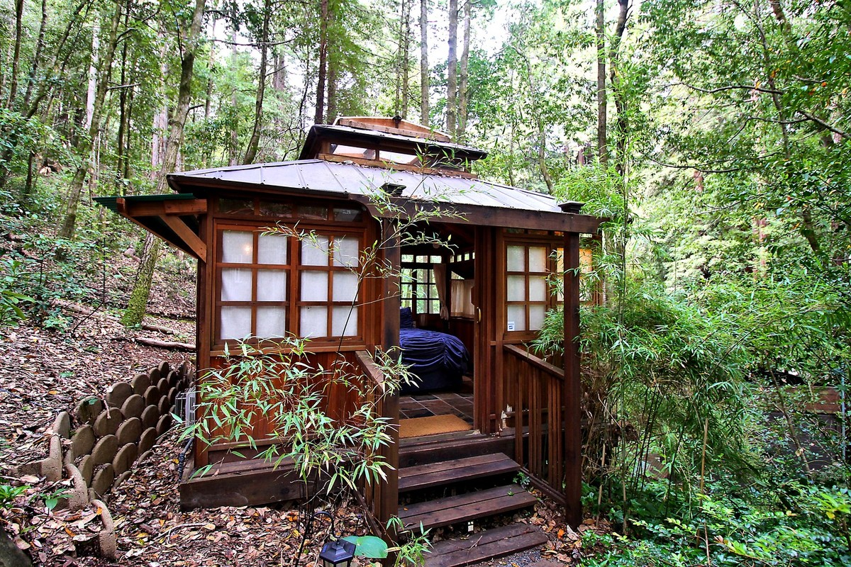 far cabin to united log the california a cabins rentals meadow in americas states wild door vacation