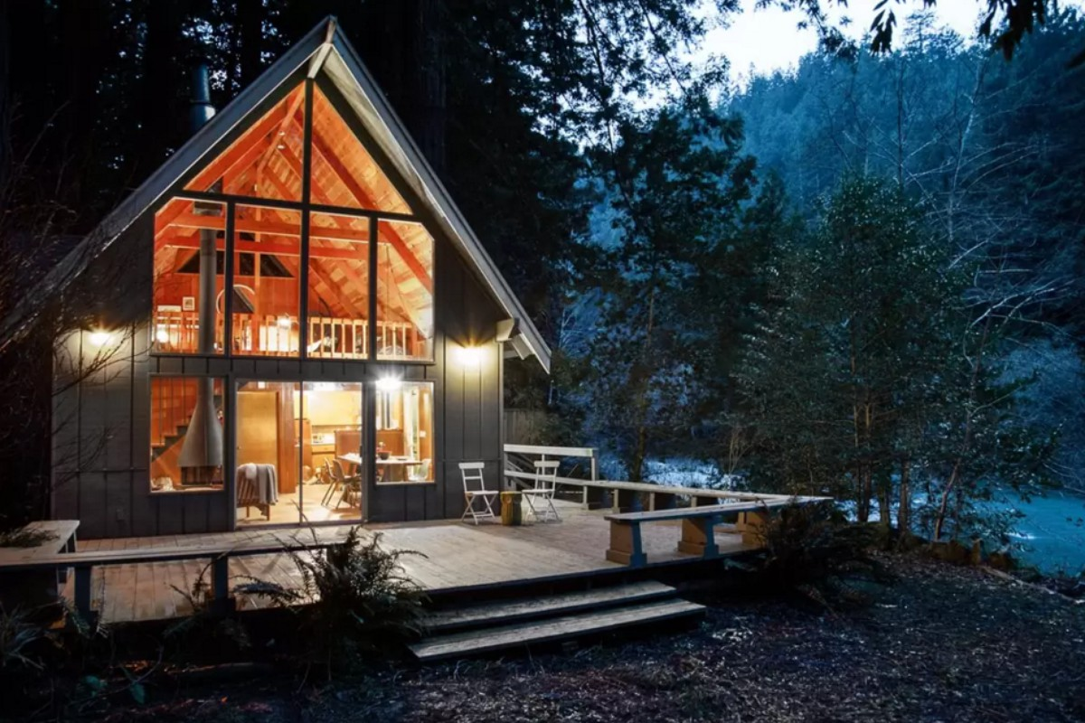 Getaway cabins inhabitat spends the in a harvard Getawaycabins com