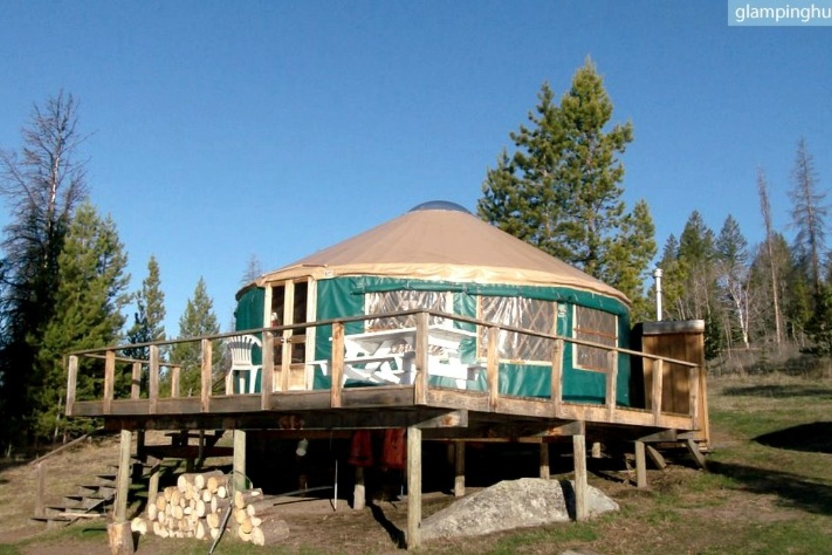 Summer Yurt Rentals in British Columbia