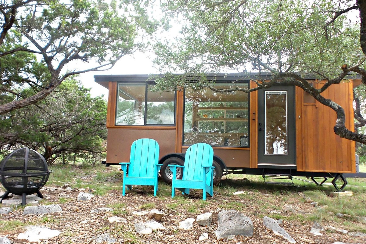 Tiny House Rentals in Texas Hill Country